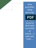 PADEZI u Srpskom Jeziku