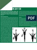 Colnícky mečík M-2011 SR (Colné aktuality č. 11 - 12/2011)