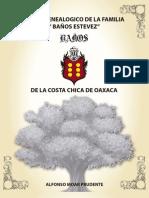 Arbol Genealogico Familia Baños Estevez