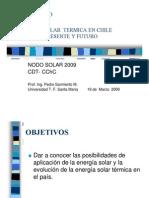 Energia Solar Termica en Chile - Pedro Sarmiento