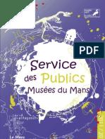 Livret service éducatif des musées du Mans - 20112012