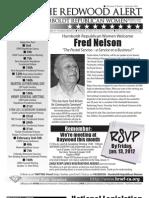 January 2012 HRWF Redwood Alert