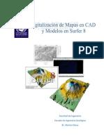 Digitalizacion en CAD y Modelos Surfer 8
