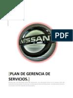 Plan Gerencia de Servicios NISSAN