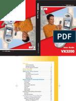 VX3200 Manual
