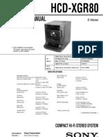 HCD-XGR80