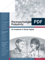 Pharmaceuticals and Productivity