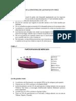 ANÁLISIS DE LA INDUSTRIA DE LAS PASTAS EN CHILE