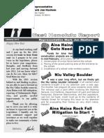 Rep Hashem Newsletter January 2012