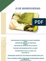 Bioseguridad Segun La Oms, Ops