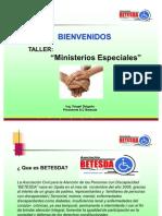 Ministerios Especiales