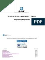 DECLARACIONES Y PAGO 2012
