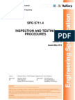 Inspection and Testing of Signalling Inspection and Testing Procedures