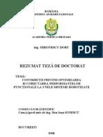Rezumat Teza Mironescu