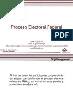Proceso Electoral Federal