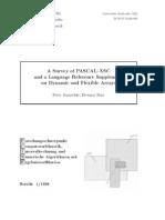A Survey of Pascal-xsc