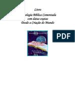 Cronologia Biblica - Indaléssio Costa Rodrigues