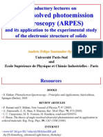 Introductory Lectures on Arpes-Santander