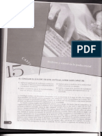 Administración de costos - Contabilidad y control - 5ta Edición - CAP 15 Medición y control de la productividad - H a n s e n M o w e n
