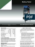 Ferret 40 Manual - Starter Alternator Battery Load Tester