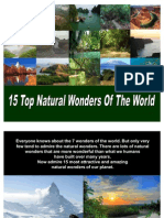 15 Top Natural Wonders of the World