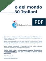 Il Giro Del Mondo in 80 Italiani