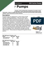 Presure Washer Pump