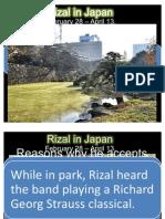 Rizal in Japan