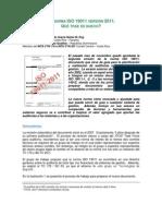 Artículo 17.  La norma ISO 19011 versión 2011