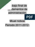 Trabajo Final de Adm Miuel Noboa