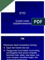 3. EYD