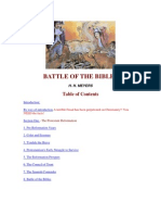 Battle of the Bibles