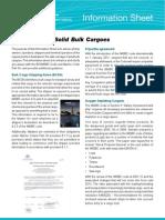 Bulk Cargos Info Sheet