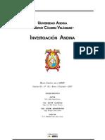 REVISTA INVESTIGACION (UANCV)