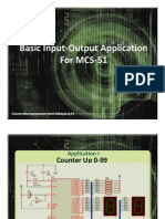 Basic Aplication InOut With mCS51