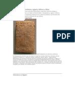 Literatura mesopotámica