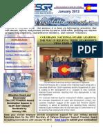COESGR Newsletter January 2012