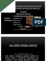 VALORES MOBILIARIOS
