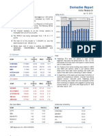 Derivatives Report 10th January 2012