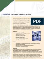 Peakdale Molecular- Microwave Chemistry Services