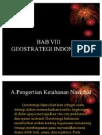 Bab 8 - Geostrategi Indonesia