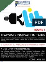 Learning Innovation Talks (LIT)