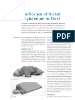 KSB the Significance of Nickel and Molybdenum in Steel