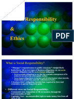 Social Responsibility & Ethics-CH-4