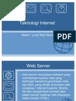 Teknologi Internet - Web Server
