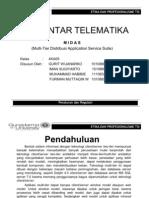 Multi-Tier Distribusi Application Service Suite