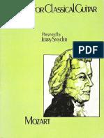 46555017 MOZART Mozart for Classical Guitar