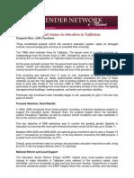 GNN Dec 2011 - Case Study - Tajikistan