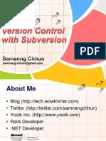 versioncontrolwithsubversion-090817023449-phpapp01