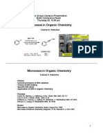 Yeeman K. Ramtohul- Microwave in Organic Chemistry